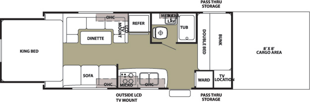 Floorplan of the 21WP