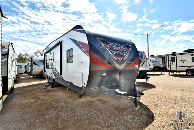 Stealth Fq2817g Toy Haulers Travel Trailers The Great Outdoors Rv