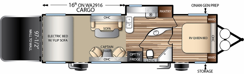 Floorplan of the FQ2916G