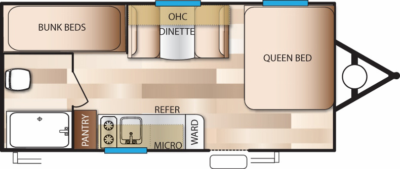 Floorplan of the 195BH