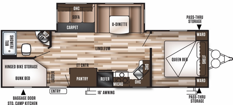 Floorplan of the 27DBK