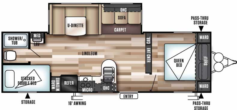 Floorplan of the 28DBUD