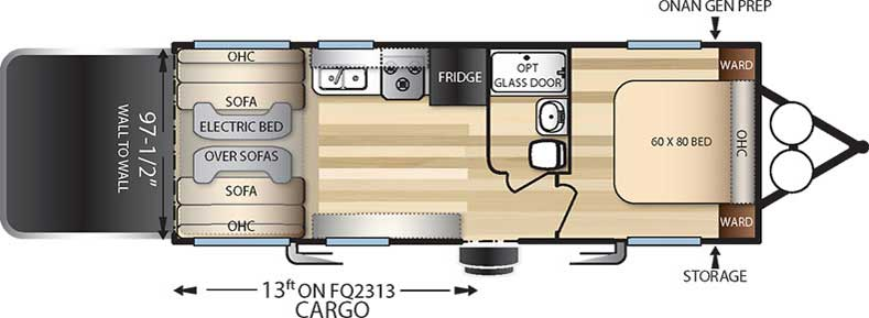 Floorplan of the FQ2313