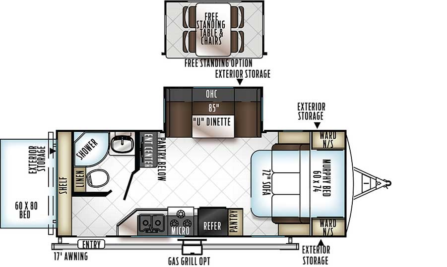 Floorplan of the 23BDS