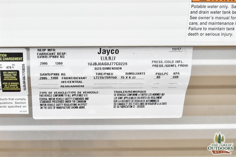 Image of the Jayco Jayflight 145RB