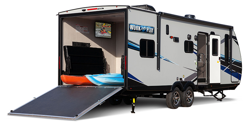 Rear View of Work and Play - New and Used RV Sales